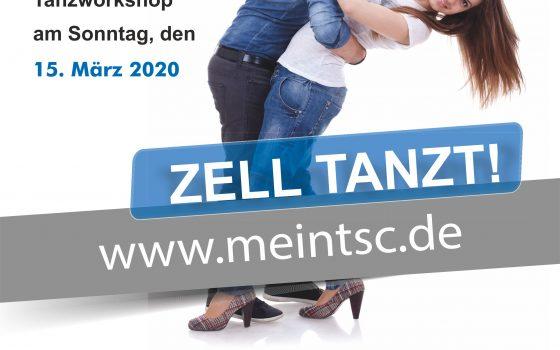 Zell tanzt! Tanzworkshop am 15.März
